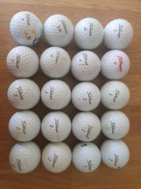 20 Titleist ProV1/Prov1X golfballs