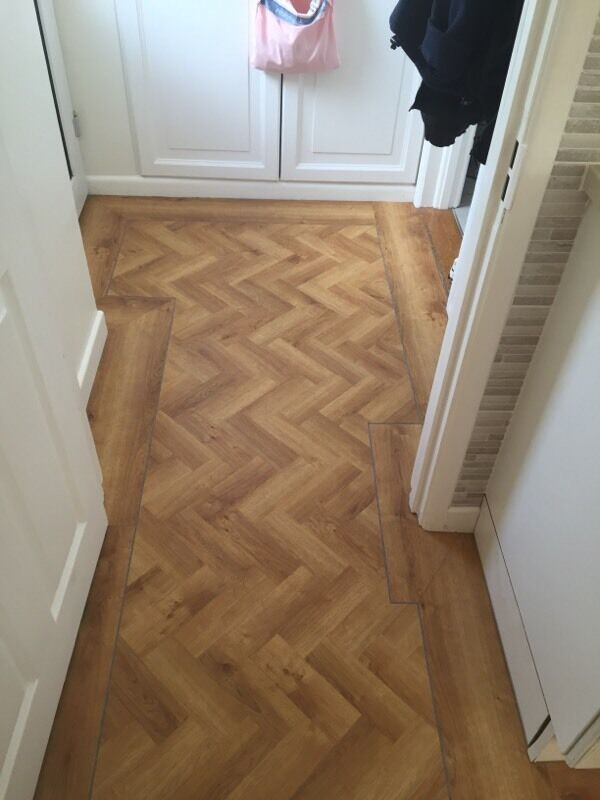 Herringbone Flooring Karndean Oak Style Flooring This