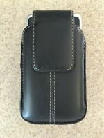 Leather belt holster for iphone