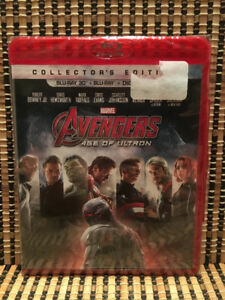 Avengers 2: Age Of Ultron 3D (2-Disc Blu-ray, 2015)Marvel/Thor/I