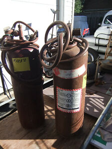 Acetylene B Tank with Torch