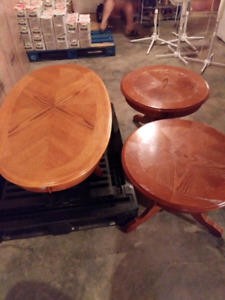 Coffe and End Tables