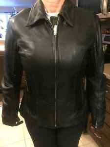 Power Trip Woman's Leather Jacket