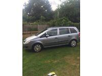 Vauxhall Zafira 7 seater ! 58 plate !