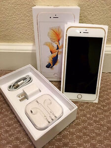 iPhone 6S Gold UNLOCKED with Lifeproof battery charging case