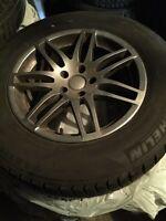 """Audi q5 / mercedes glk Winter kit 17"""""""