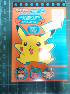 Pokemon Collector's Series 2 Valentine's Day Cards (dated 2000)