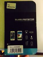 Tempered Glass screen protector for 5/5s