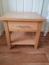 Small heavy side or coffee table