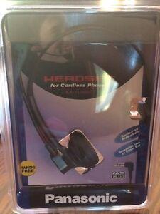 Cordless phone headset