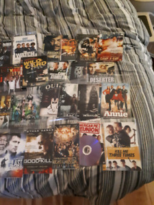 Over 60 movies.