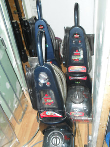 3 Bissell carpet cleaners