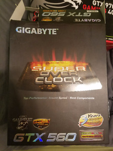 Gigabyte Nvidia GeForce GTX 560 1 GB GDDR5 Super Overclock