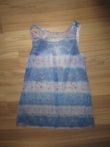 GIRLS BLUE & PURPLE SWIMSUIT COVER-UP - SIZE 10