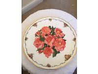 Royal Albert china plate