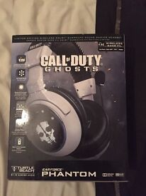 Call of duty ghosts phantom headset works with Xbox one,360,ps4,ps3