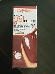 Vernis salon gel polish Sally Hansen Raisin the Bar