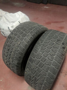 2 Hercules Avalanche X-Treme Snow Tires - 235/45/17 (Two tires)