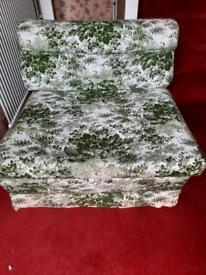 Vintage bed chair