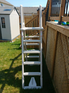 A-Frame Above Ground Pool Ladder