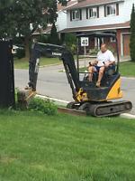 RENTAL....MINI EXCAVATOR WITH OPERATOR