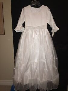 First communion dress new with tags