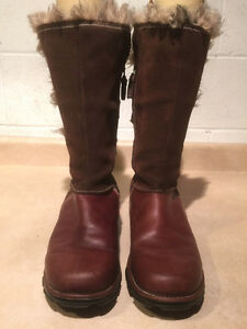 Women's Columbia Tall Leather Winter Boots Size 11 London Ontario image 5