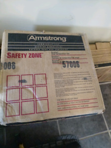Armstrong safety zone flooring
