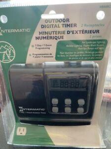 Outdoor digital timer