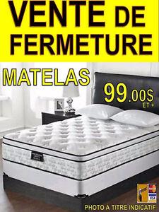 **MATELAS EN PROMOTION @  99 $  et+. – MATELAS AU MEILLEUR PRIX