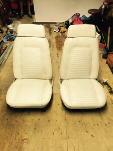 1969 Camaro Seats