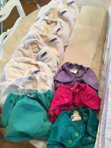 Hardly used collection of top rated cloth diapers Kitchener / Waterloo Kitchener Area image 3