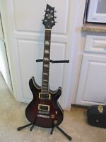 Cort M600 Electric Guitar & Hardshell Case