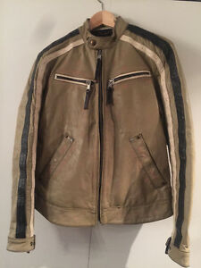 MUST SELL: BLAND NEW ENERGIE MENS LEATHER JACKET