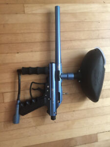 VL TRITON II PAINTBALL GUN W/ EMPIRE HOPPER