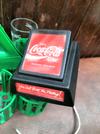 Rare 80s coca cola bar pump Come from working men's club that closed d