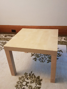 TWO coffee/end tables, matched set