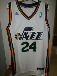Authentic Adidas Utah Jazz Paul Millsap Jersey Size L MSRP $110