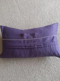 Purple kylie minogue pillow