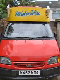 Ford Transit ice cream van 2000 reg