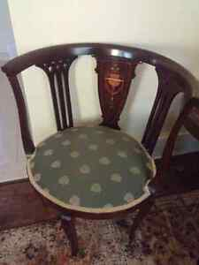 Antique French emperor chair