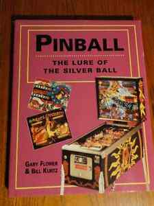 Pinball The Lure of the Silver Ball Hardcover Book $30 or offer