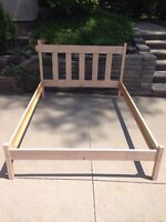 Double or full size bed frame