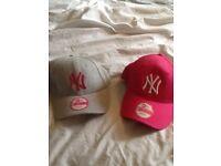 2 x ny hats brand new