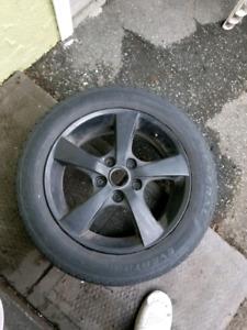 3 pneu d'hiver 16 pouces avec mags 50$
