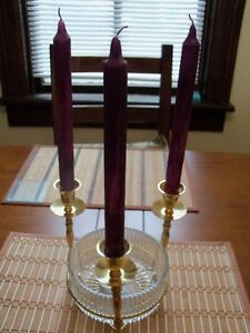 ****CRYSTAL CANDY OR DECOR CANDLE ACCENT DISH****