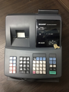 USED SHARP CASH REGISTER XE-A22S