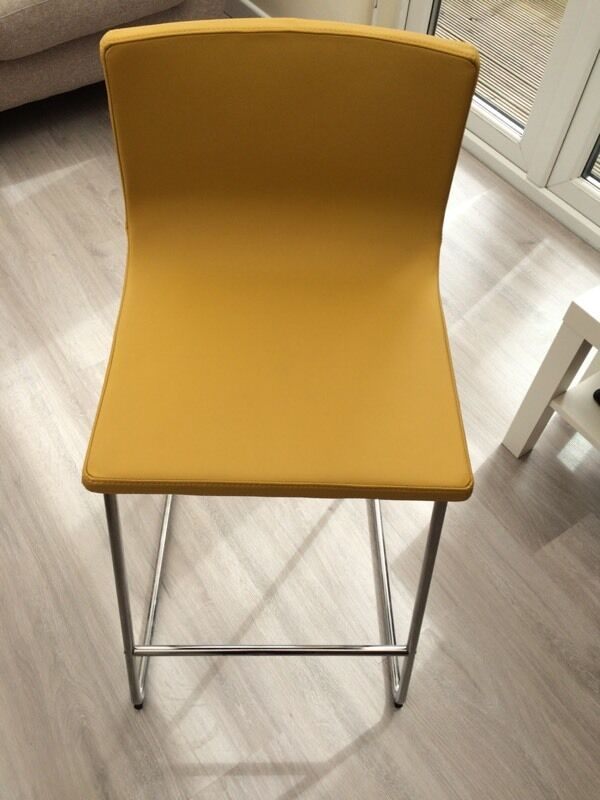 Super Bernhard IKEA yellow kitchen bar stool | in Penarth, Vale of  QY98