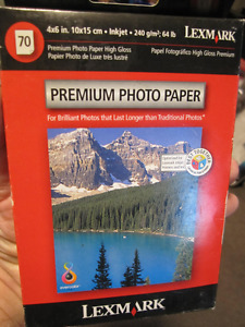 Lexmark 6x4 Glossy Premium Photo Paper 240Gsm - 70 sheets