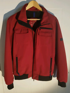 Used Calvin Klein Red Spring jacket mens - small